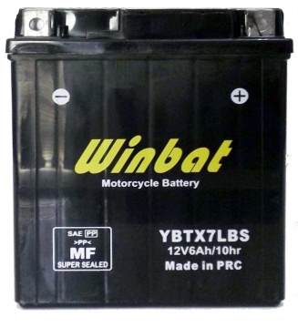 BATTERY MOTORCYCLE YBTX7L-BS