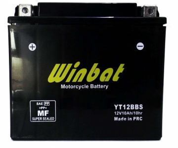 BATTERY MOTORCYCLE YT12B-BS