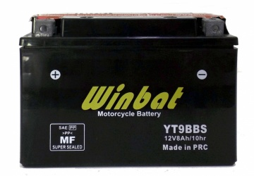 BATTERY MOTORCYCLE YT9B-BS