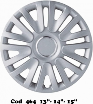 "UNIVERSAL WHEEL COVERS MOD. 464 13""-14""-15"""