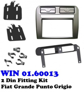 2 DIN FITTING KIT FIAT GRANDE PUNTO